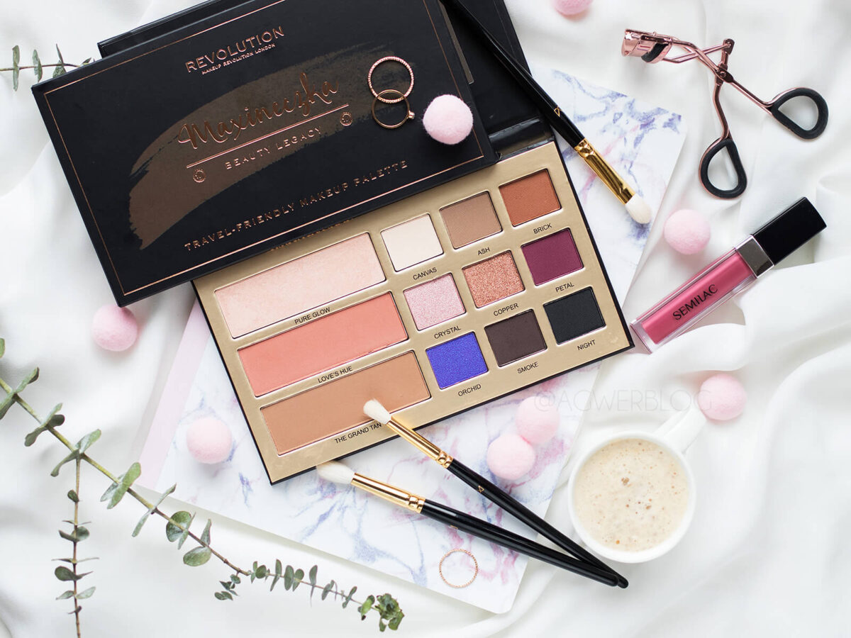 Makeup Revolution Maxineczka Beauty Legacy