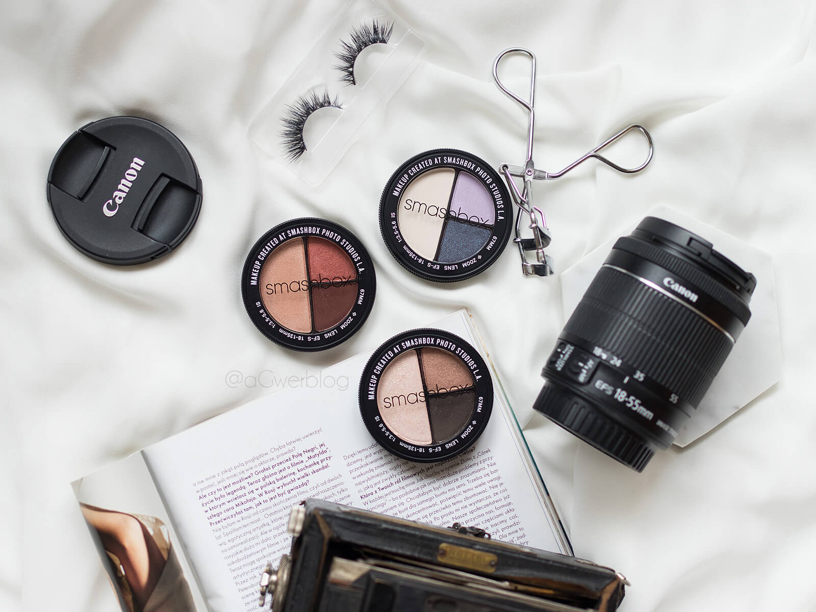 Smashbox Photo Edit Eye Shadow Trio – miniaturowe paletki