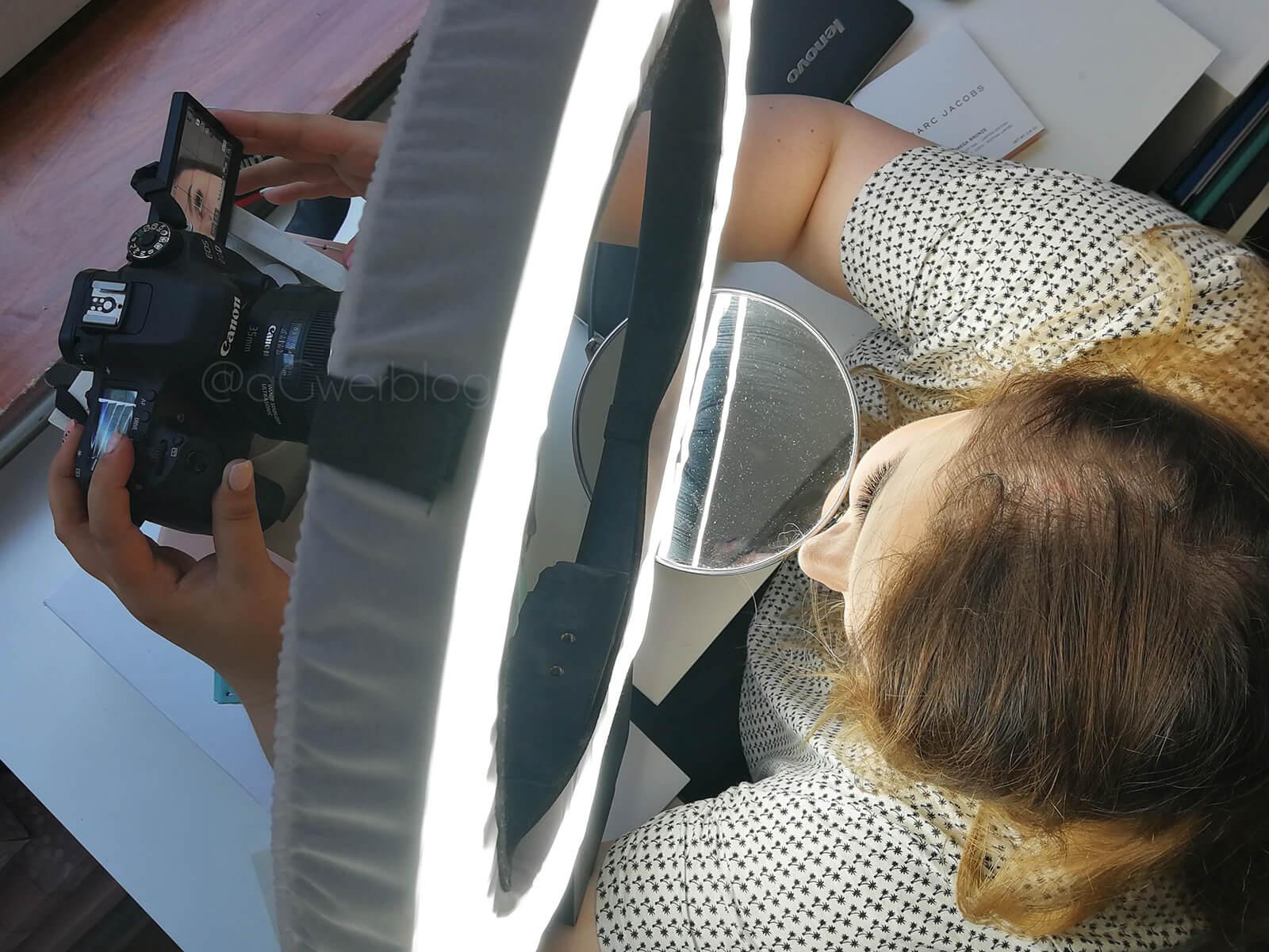 jak zrobić makijaż oka do zdjęć