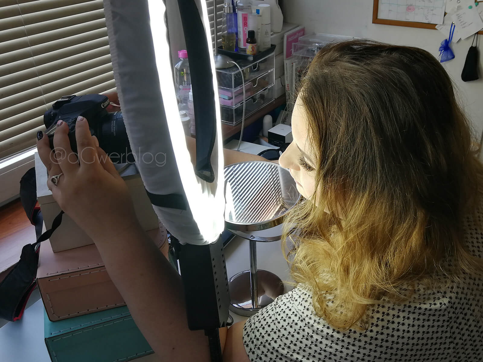 jak zrobić zdjęcie makijażu oka telefonem