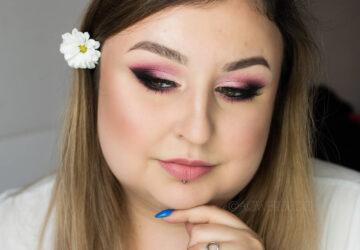 Kolorowy makijaż ślubny