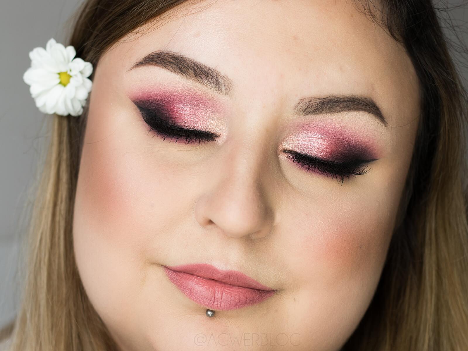 makijaż ślubny w kolorze