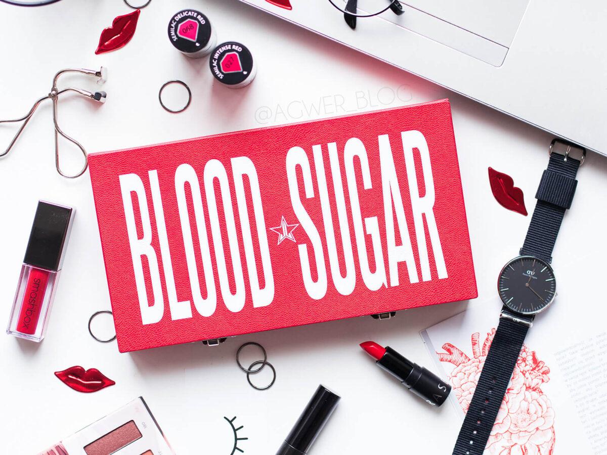 paleta Jeffree Star Blood Sugar opinie