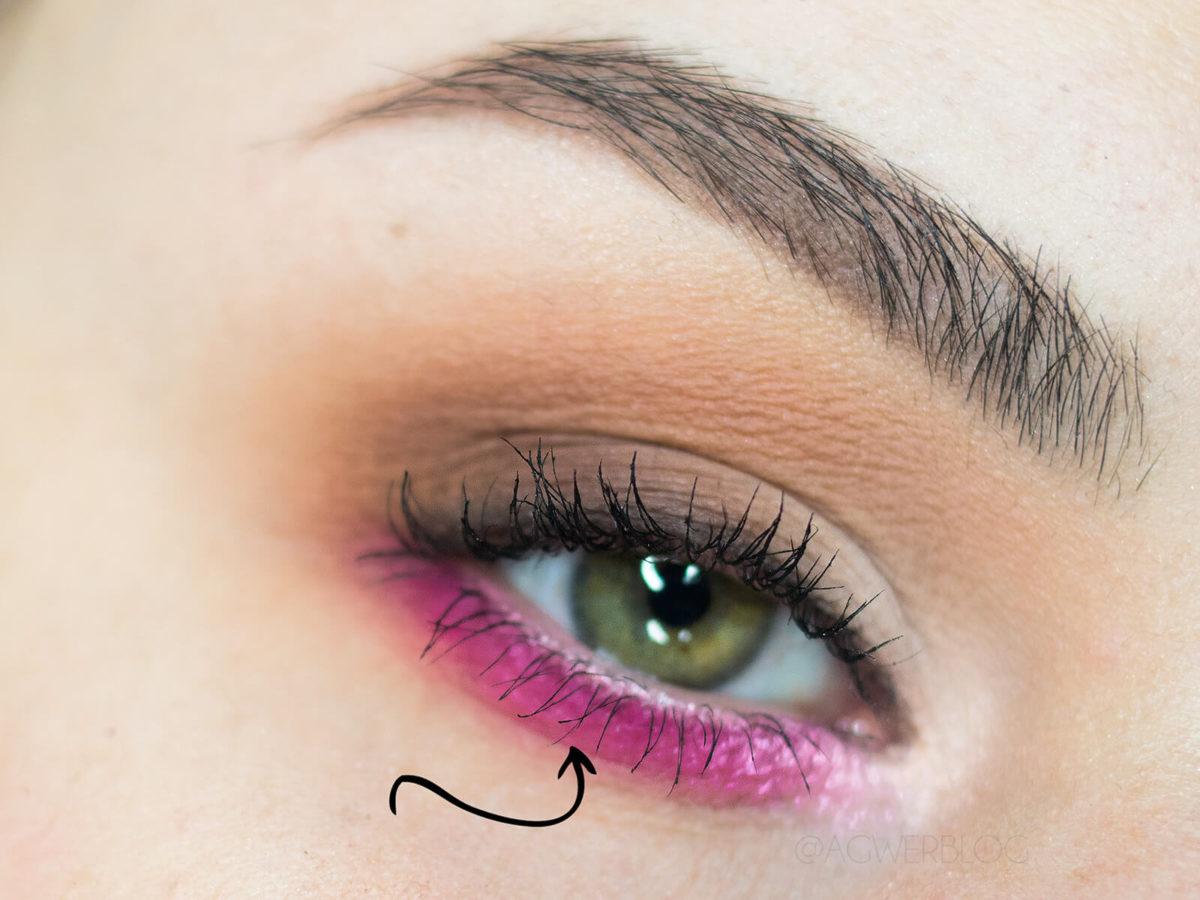 kolorowy makijaż dzienny dla zielonej tęczówki