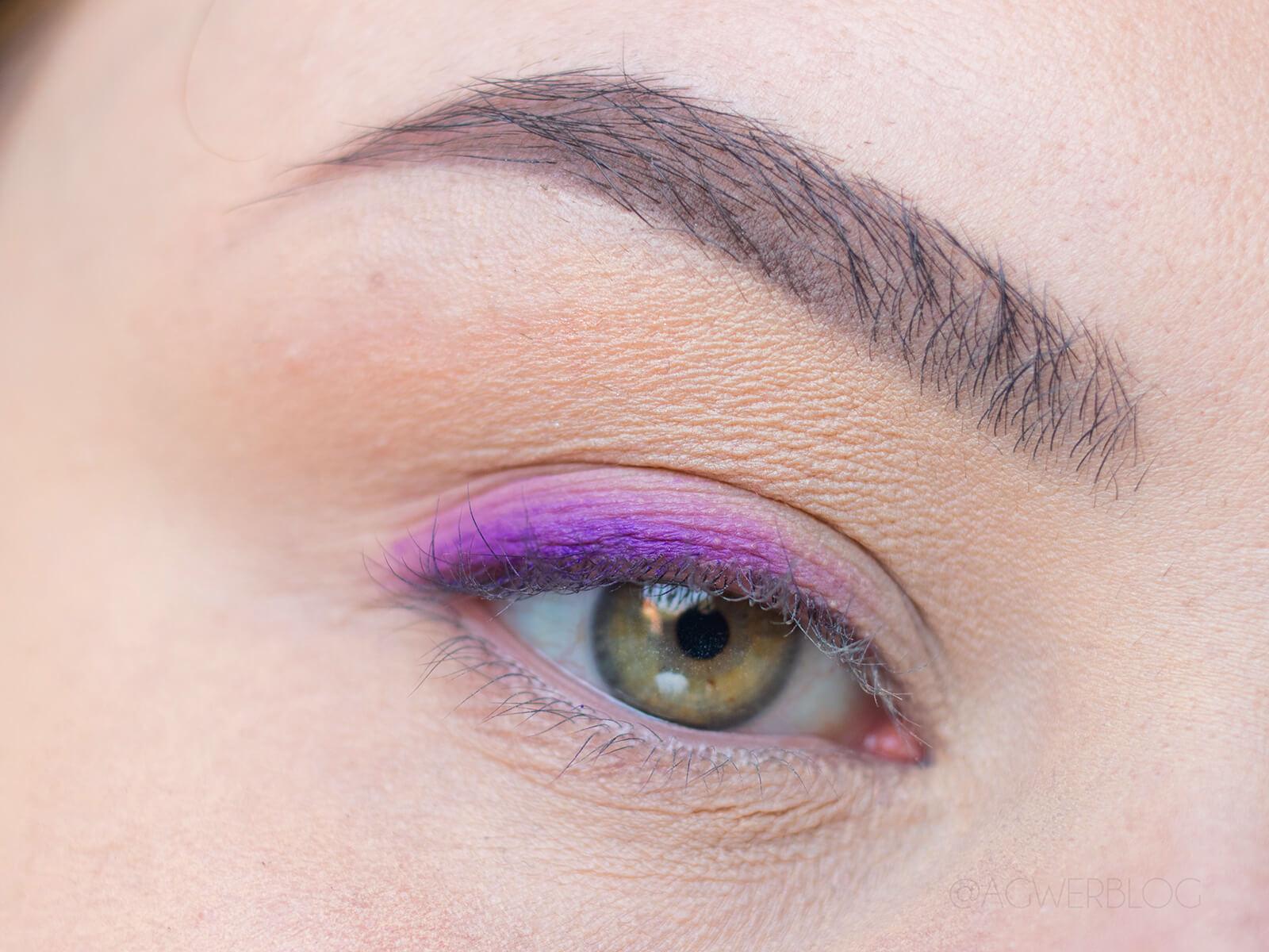 makijaż dzienny z kolorem blog