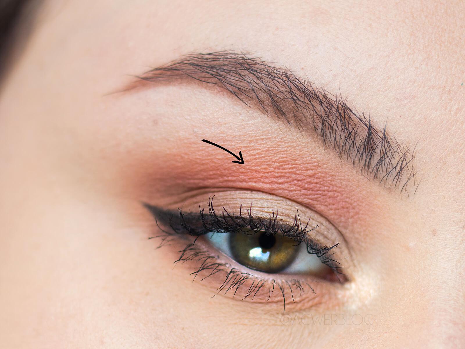 makijaż dzienny z kolorem instrukcja