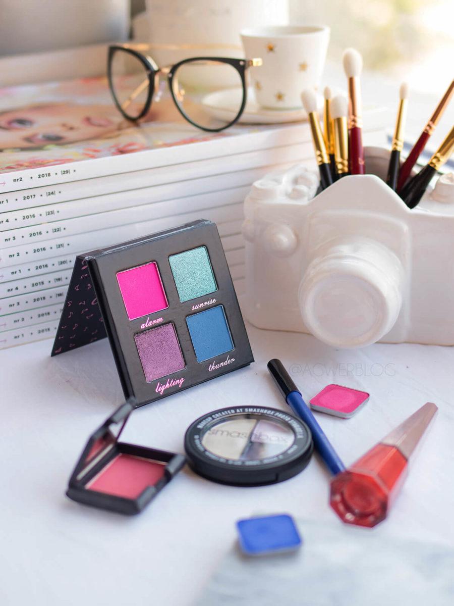 kolor w makijażu dziennym