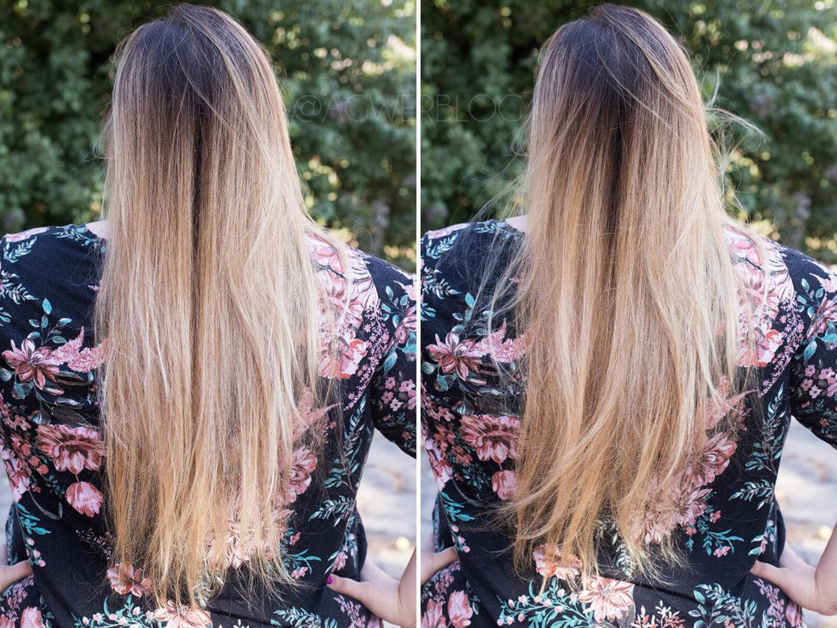 blog o włosach ombre