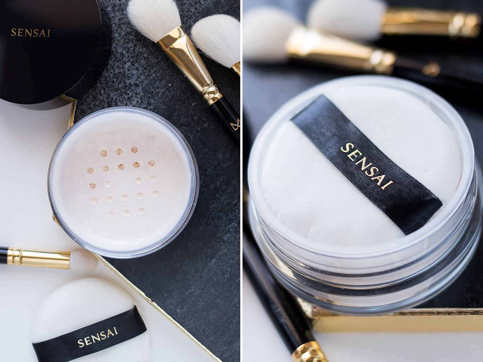 Sensai Translucent Loose Powder puder