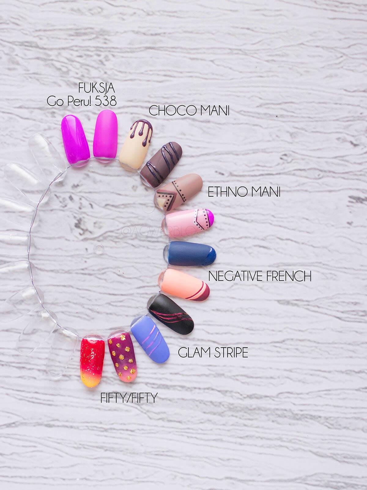jesienne trendy manicure