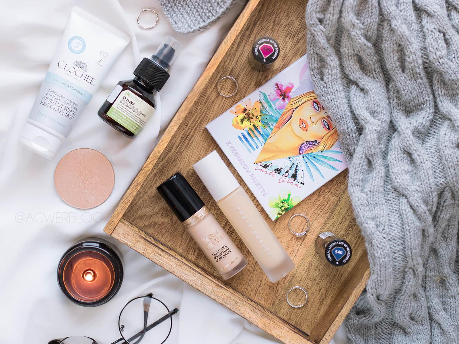 Ulubieńcy kosmetyczni września | MIYO, Fenty Beauty, Clochee