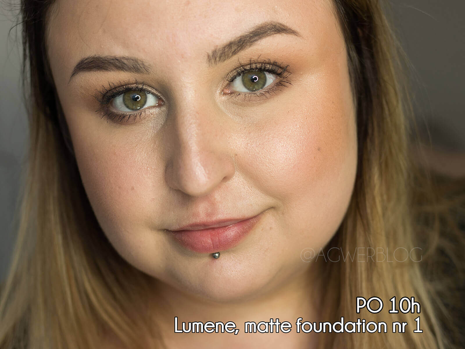 Lumene, Matte Foundation blog