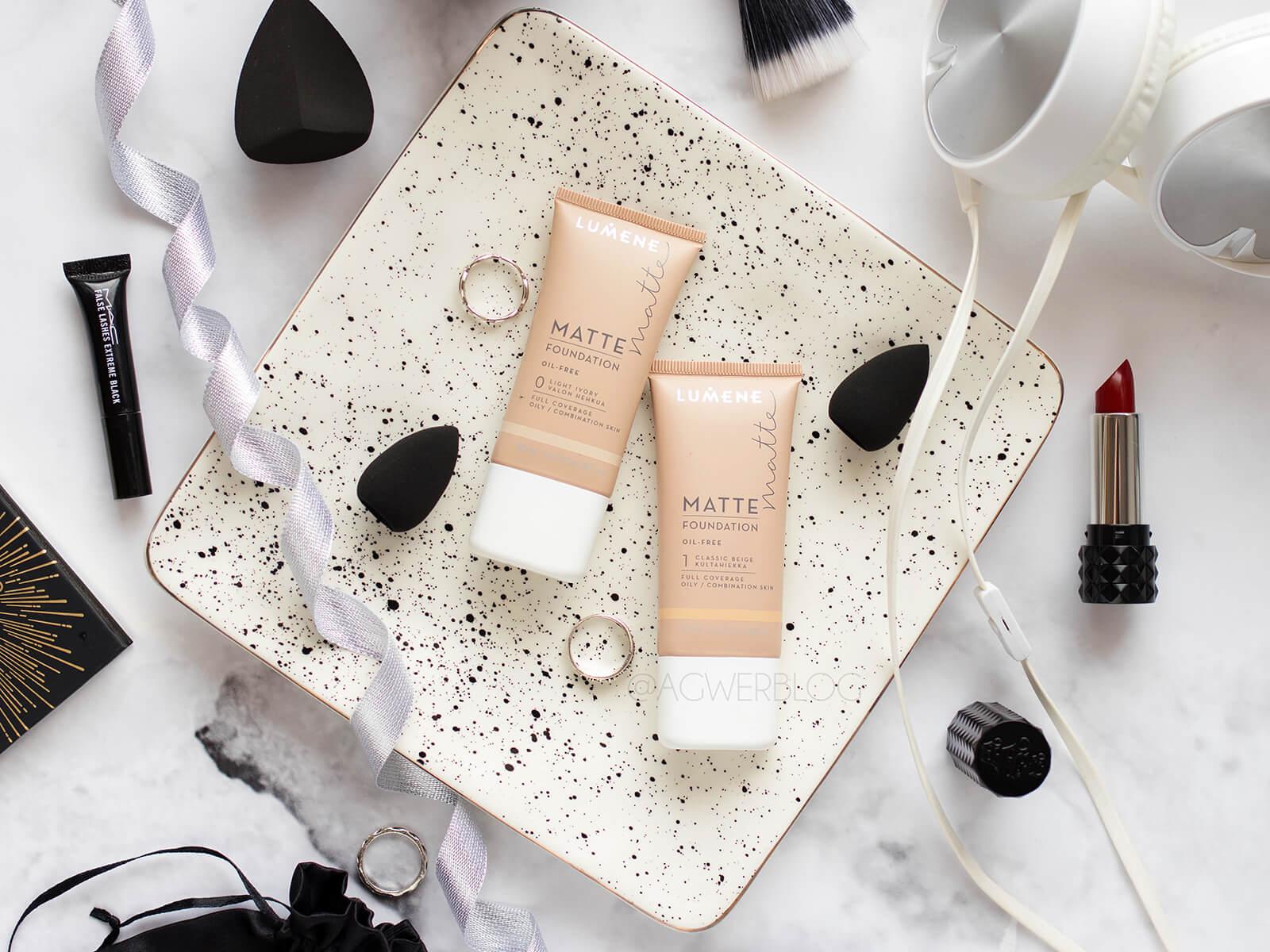 Podkład Lumene Matte Foundation – kosmetyczne odkrycie tego roku?