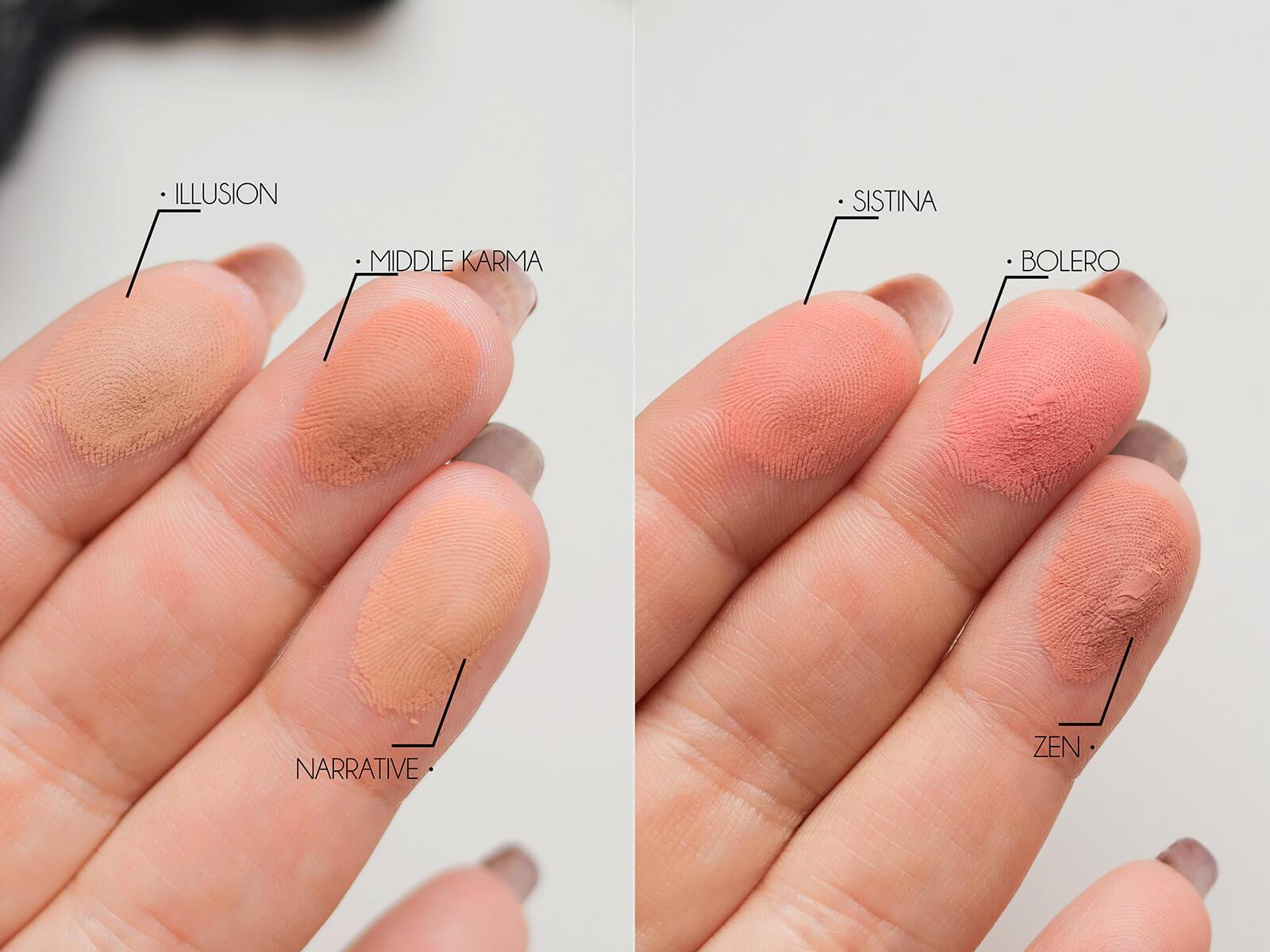 Nabla Cosmetics, Poison Garden Palette recenzja