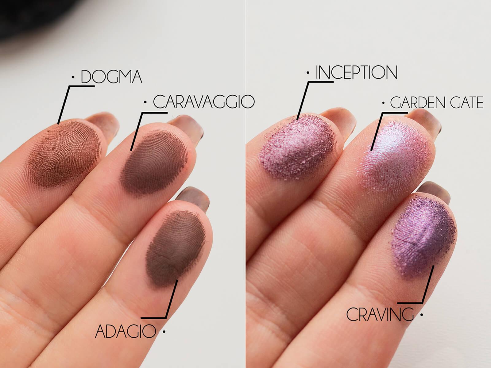 Nabla Cosmetics, Poison Garden Palette blog