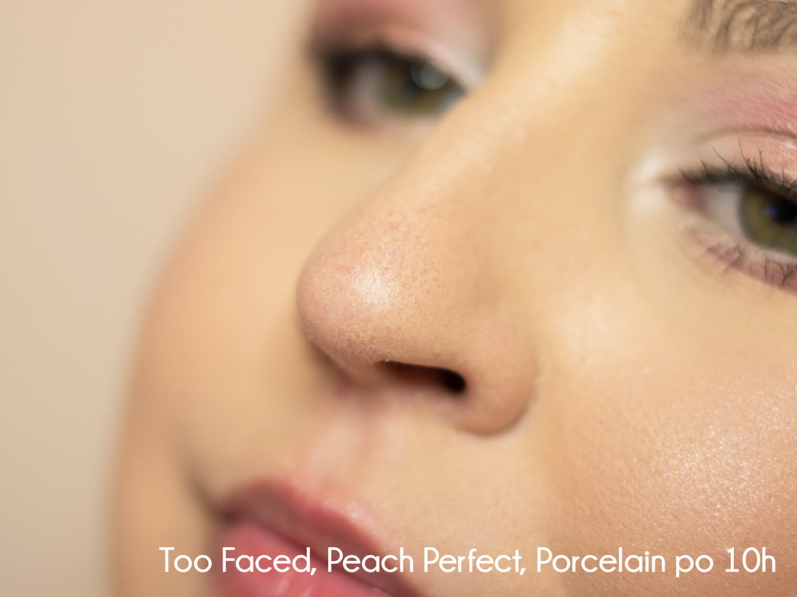 podkład too faced peach perfect snow