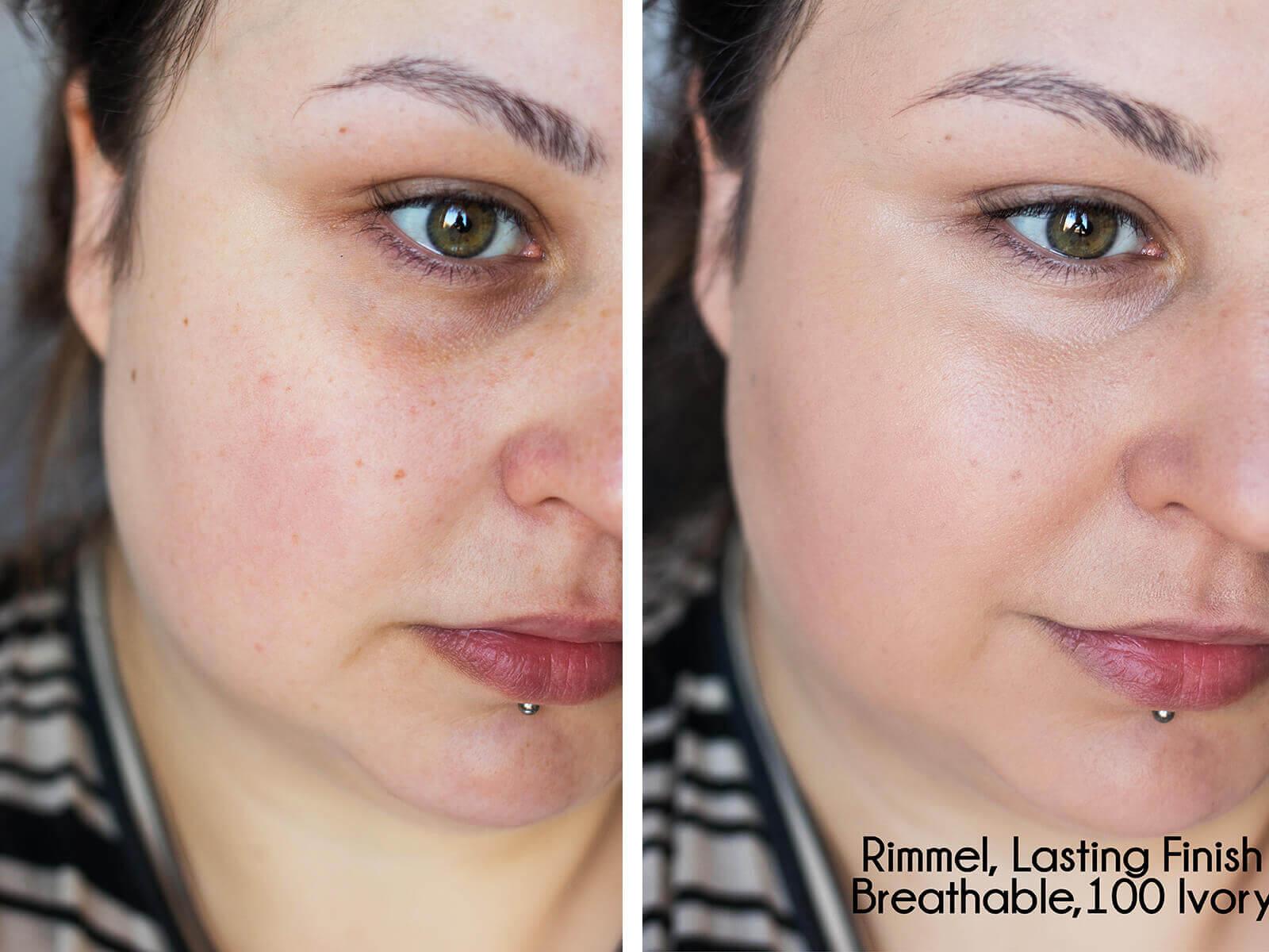 Rimmel Lasting Finish Breathable blog recenzja