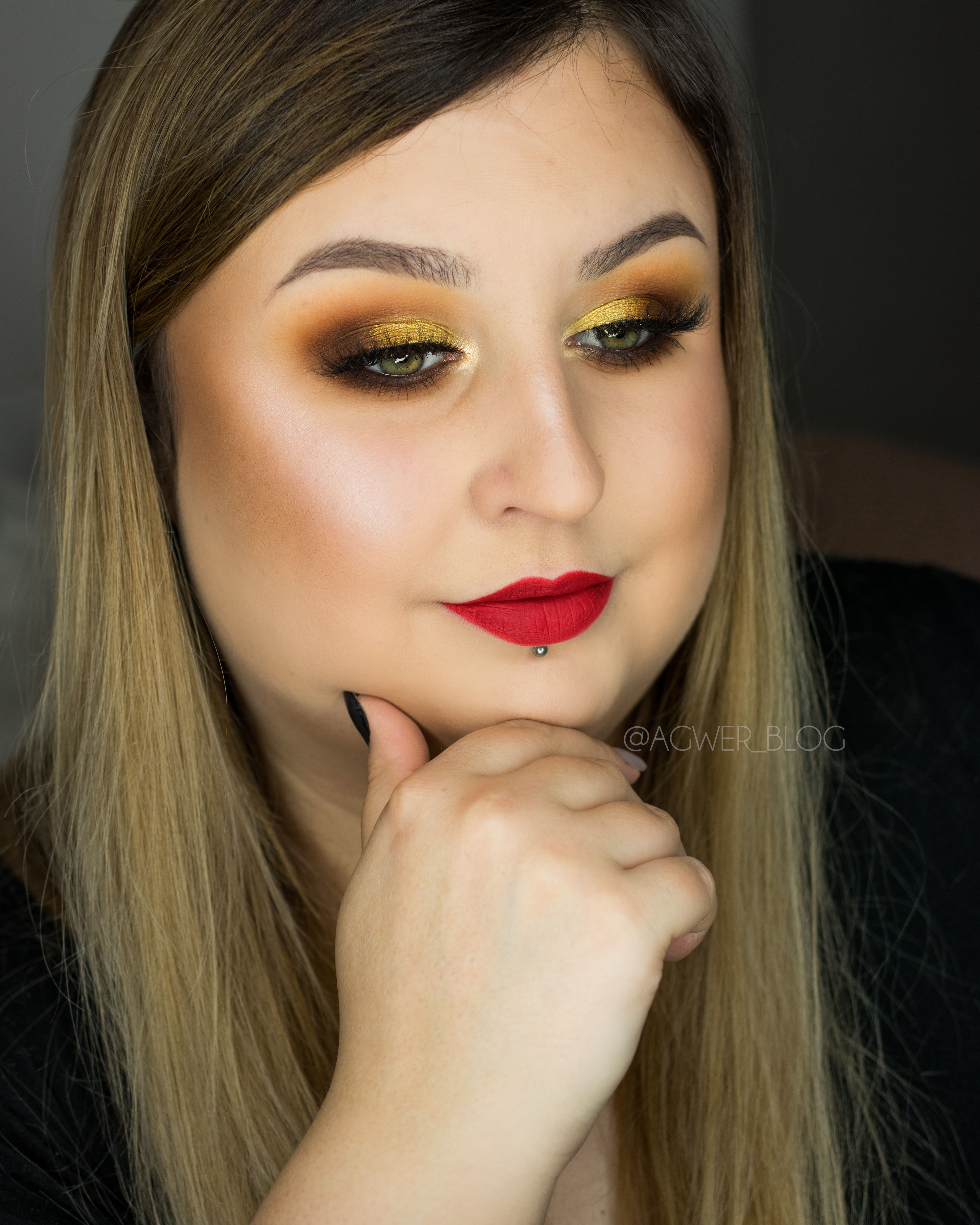 agwerblog makijaż morphe