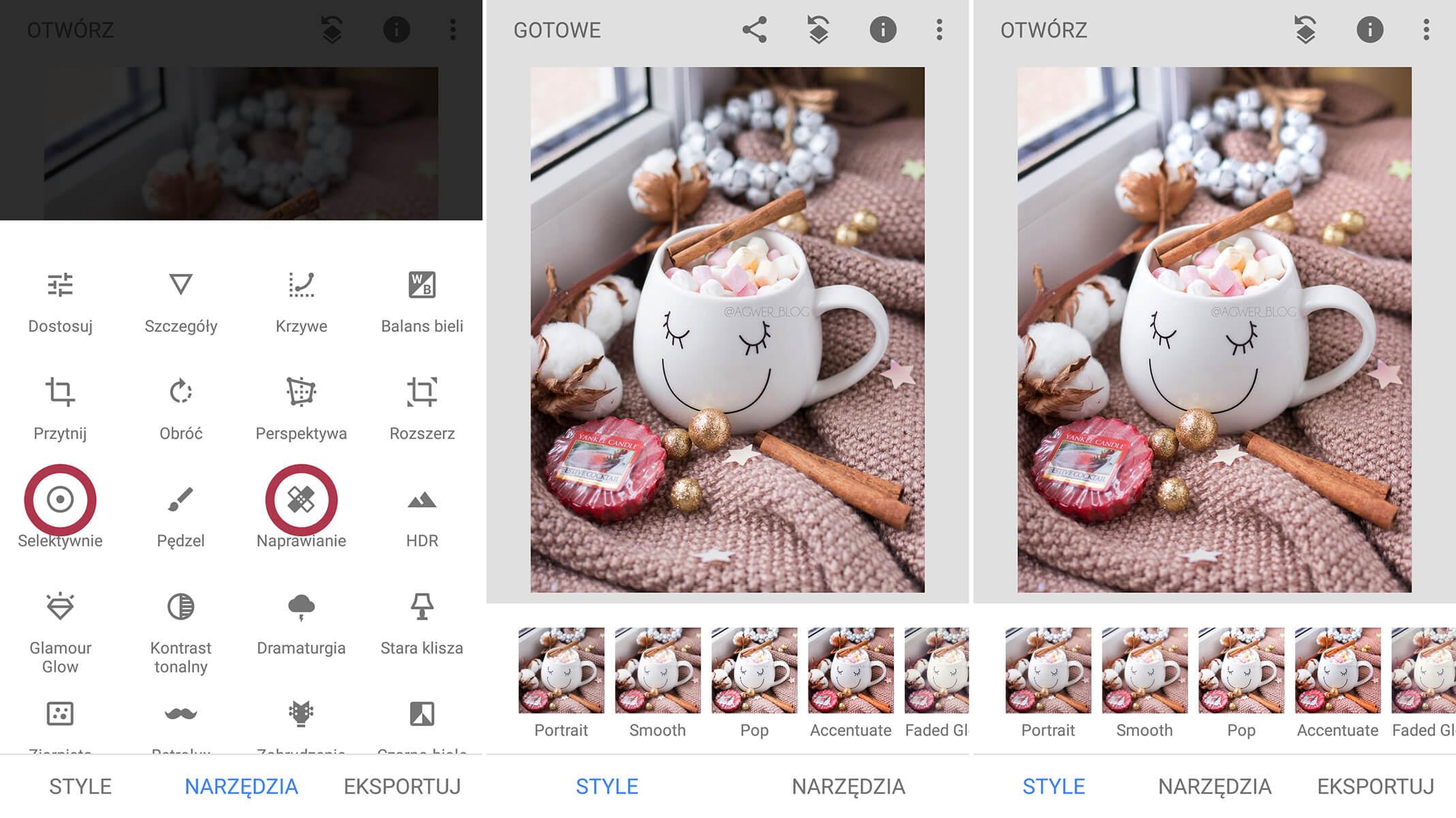 aplikacje do obróbki zdjęć android po polsku