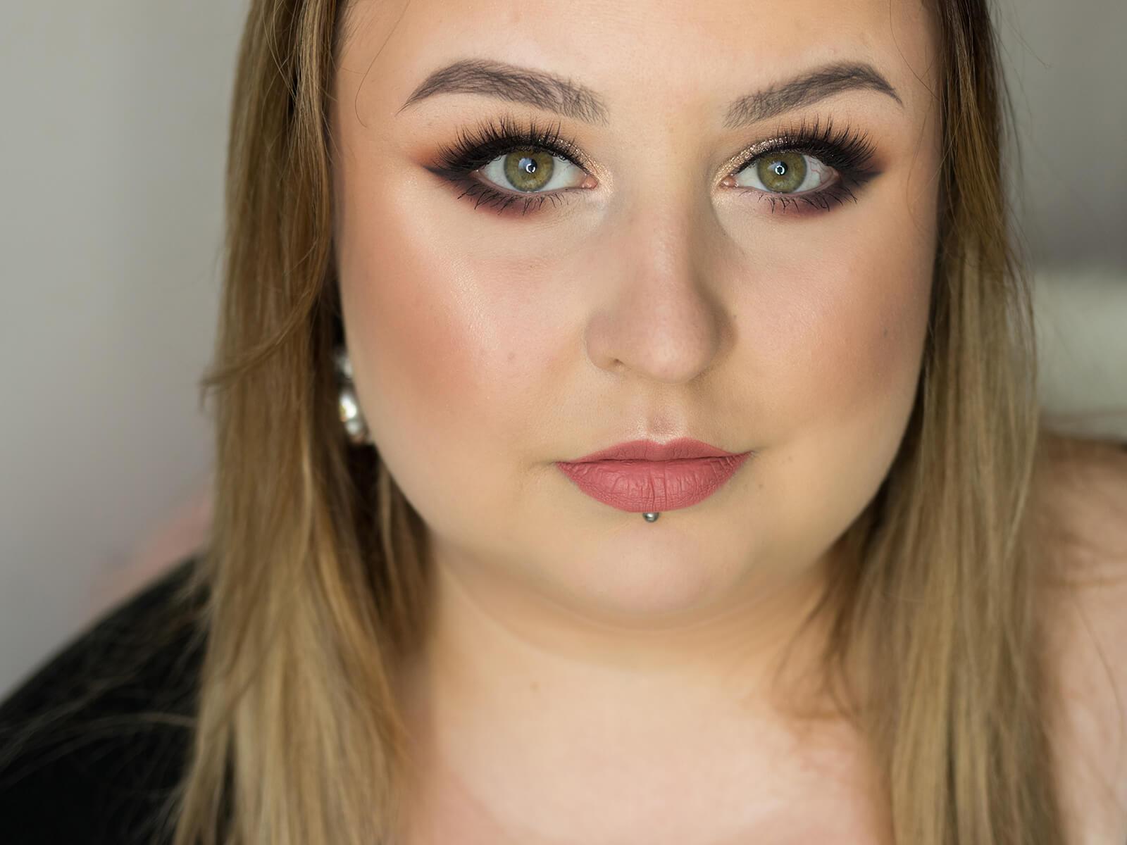 Świetlisty makijaż na święta po polsku | BLOGMAS