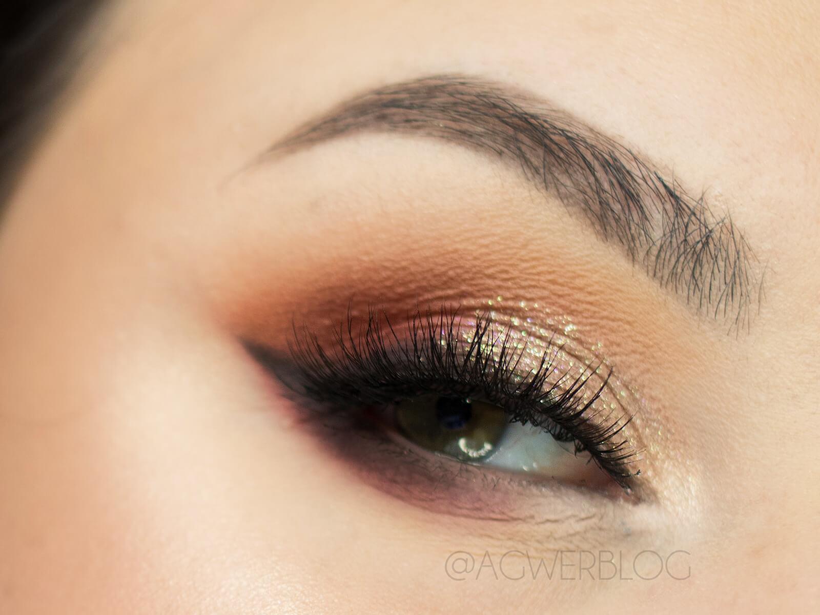 makijaż oczu na święta
