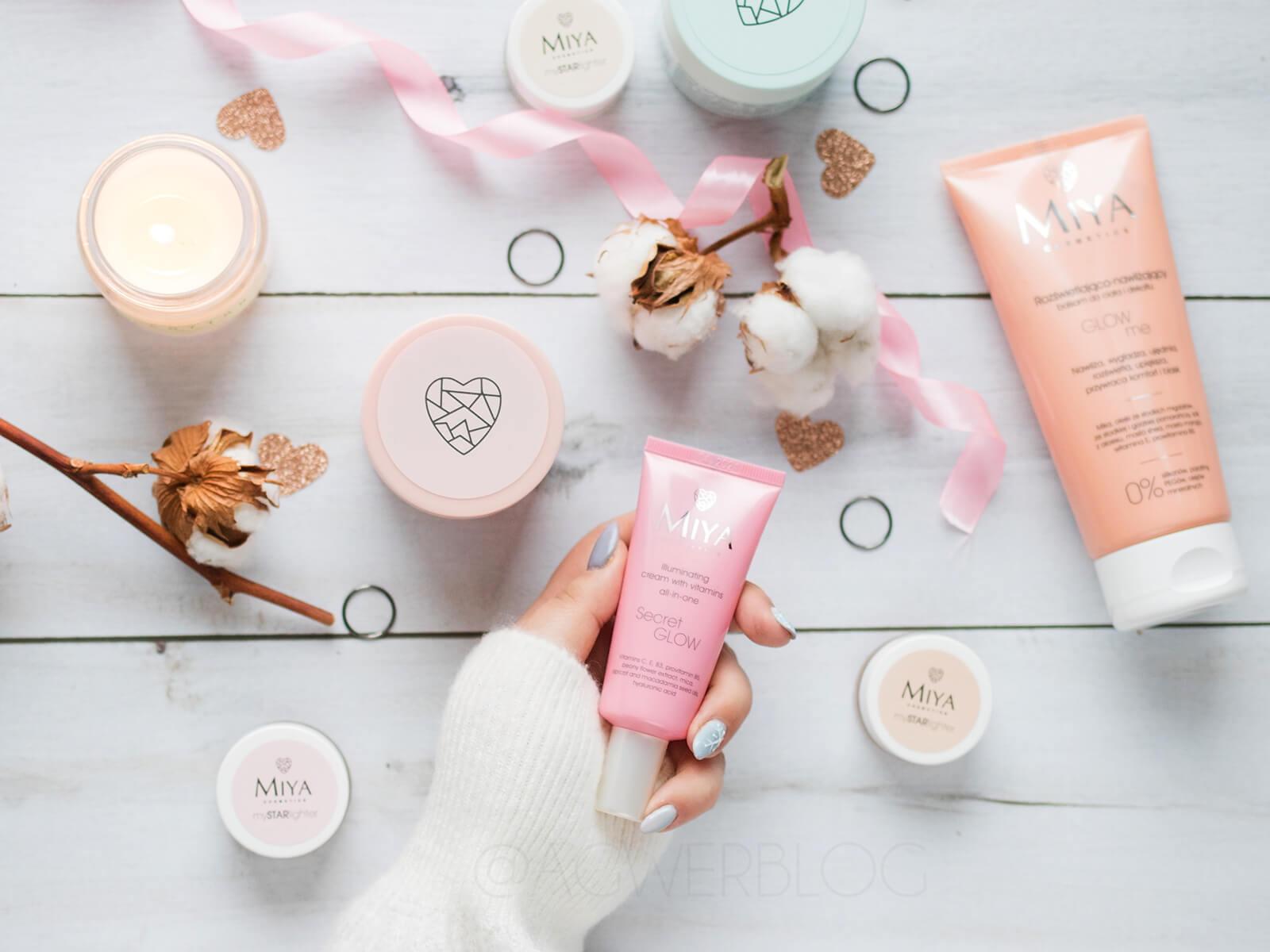 Nowości MIYA Cosmetics – ekspresowe maseczki, SecretGLOW i nie tylko!