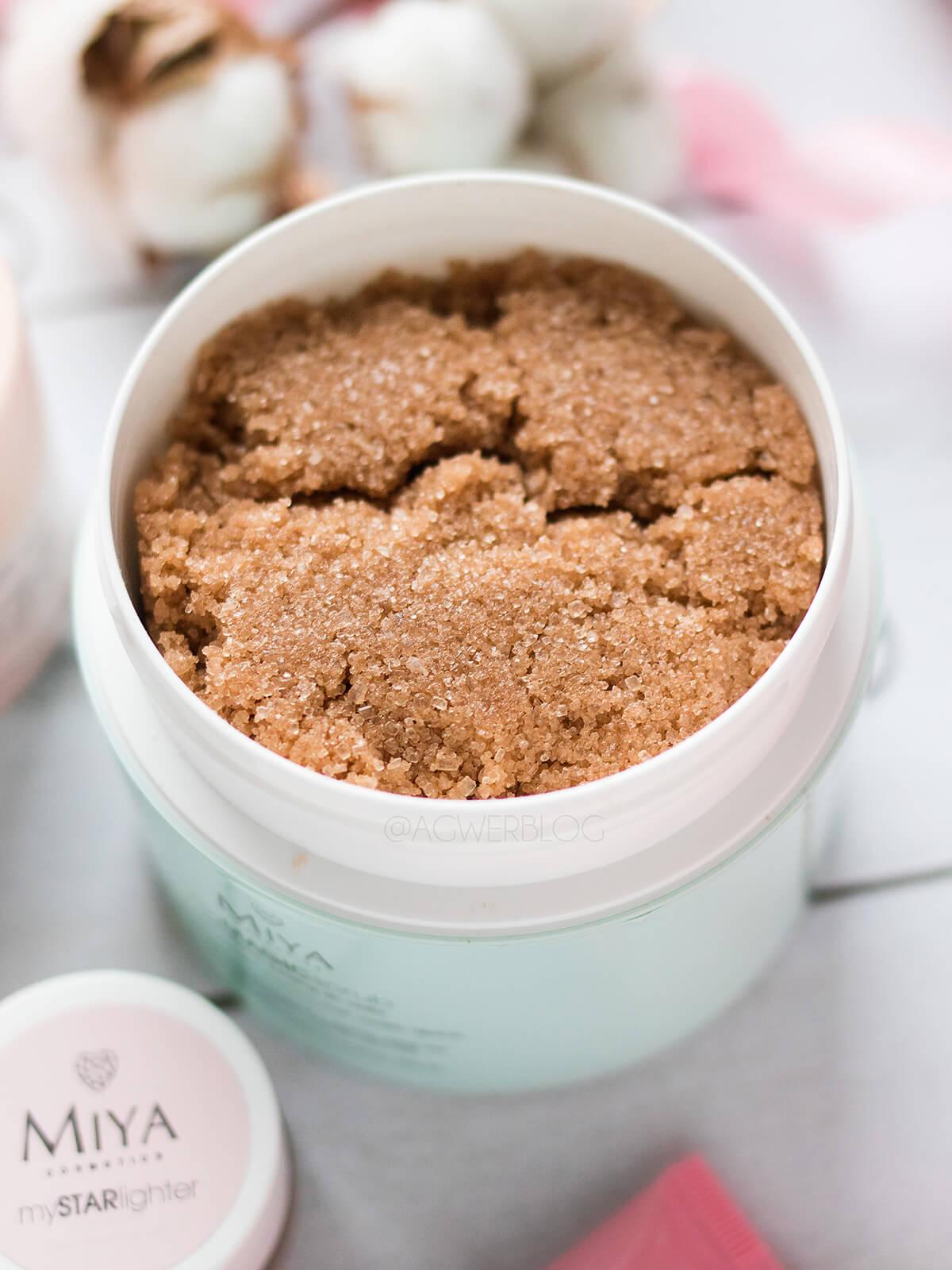 nowości MIYA Cosmetics peeling kokosowy