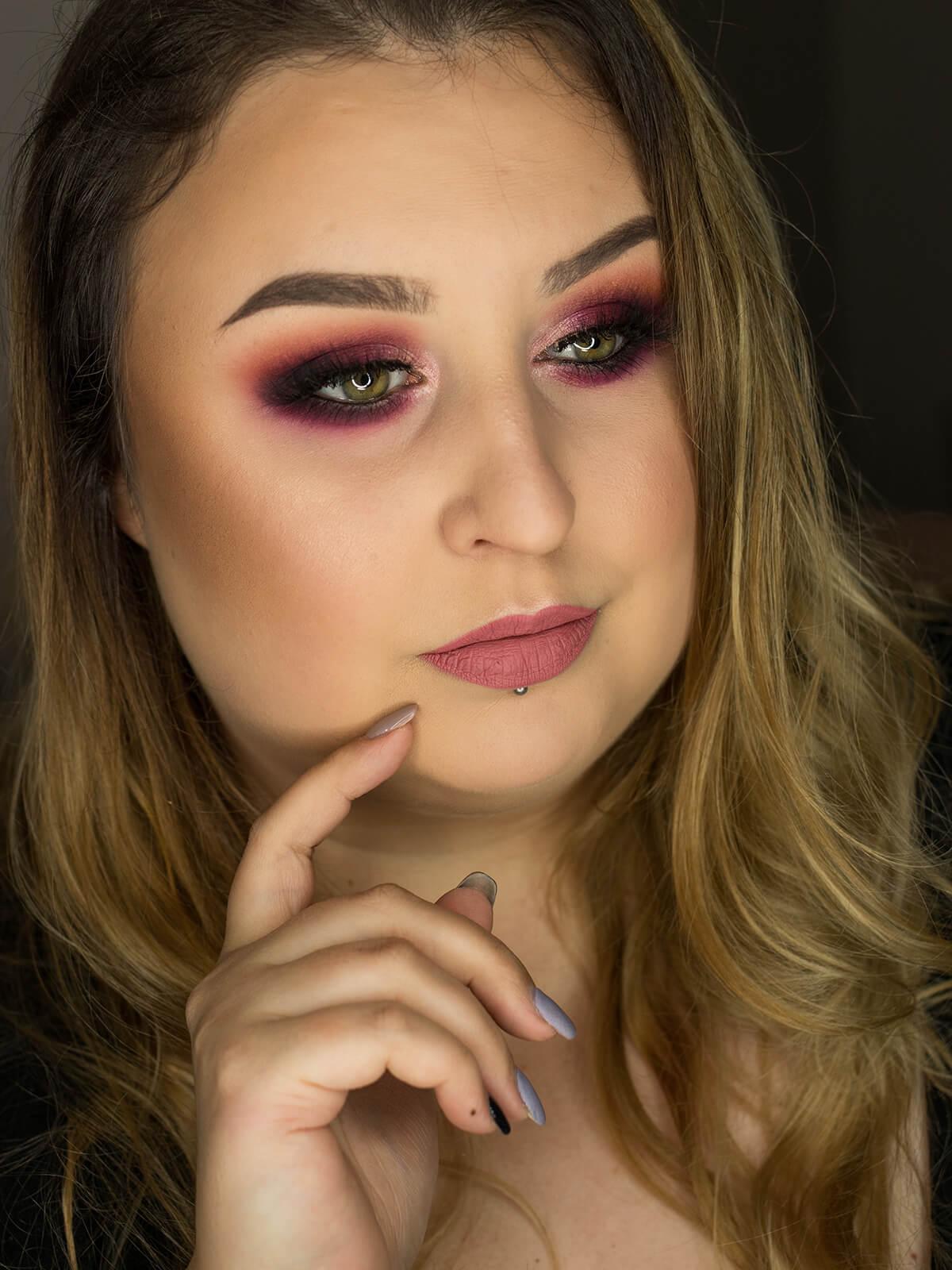makijaż wieczorowy inspiracje