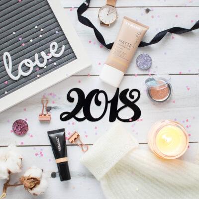Hity kosmetyczne 2018 – produkty do makijażu