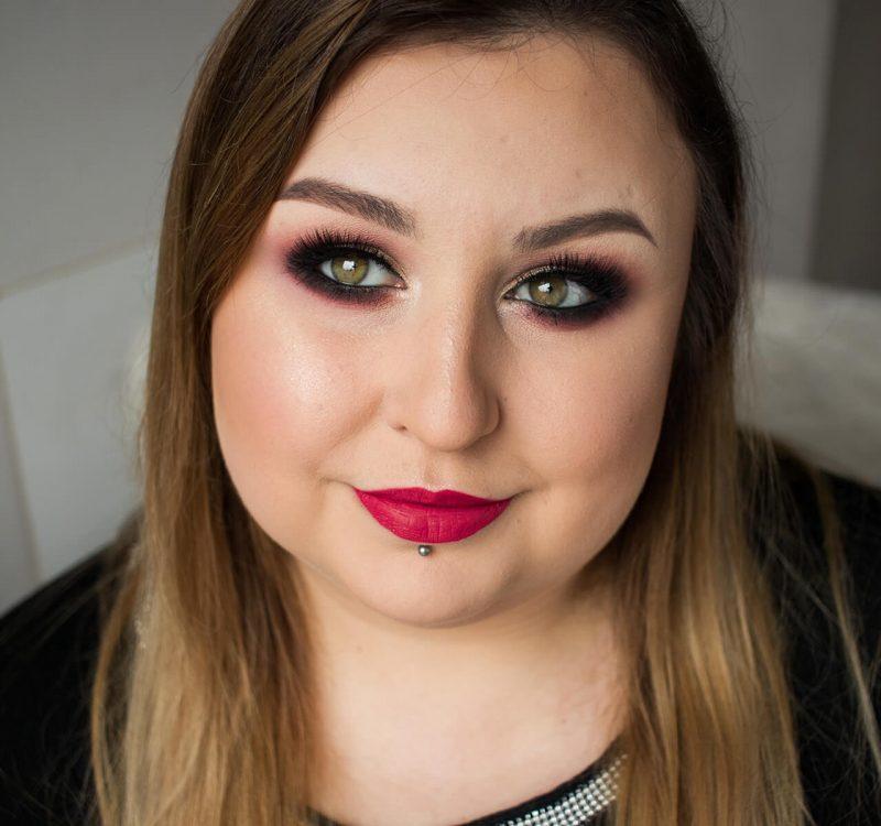 Makijaż studniówkowy krok po kroku – Affect, Lumene, Boho Beauty