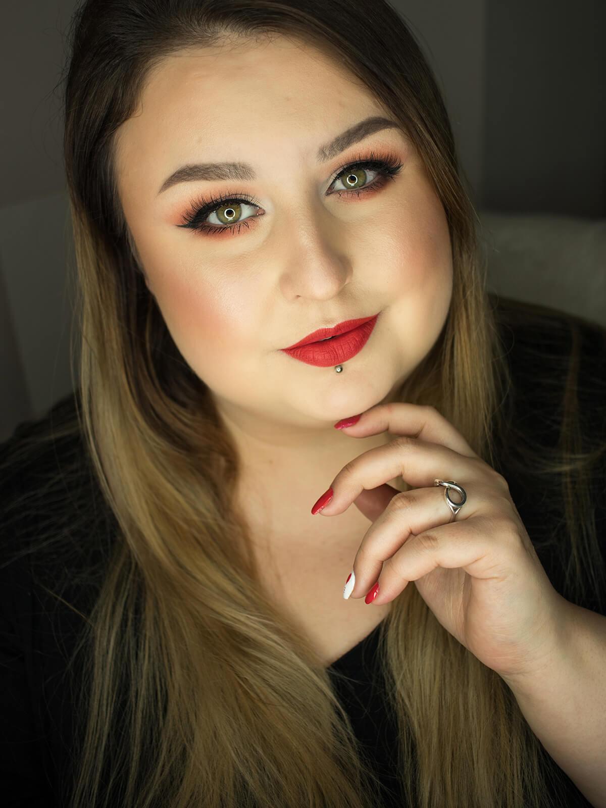 walentynkowy makijaż