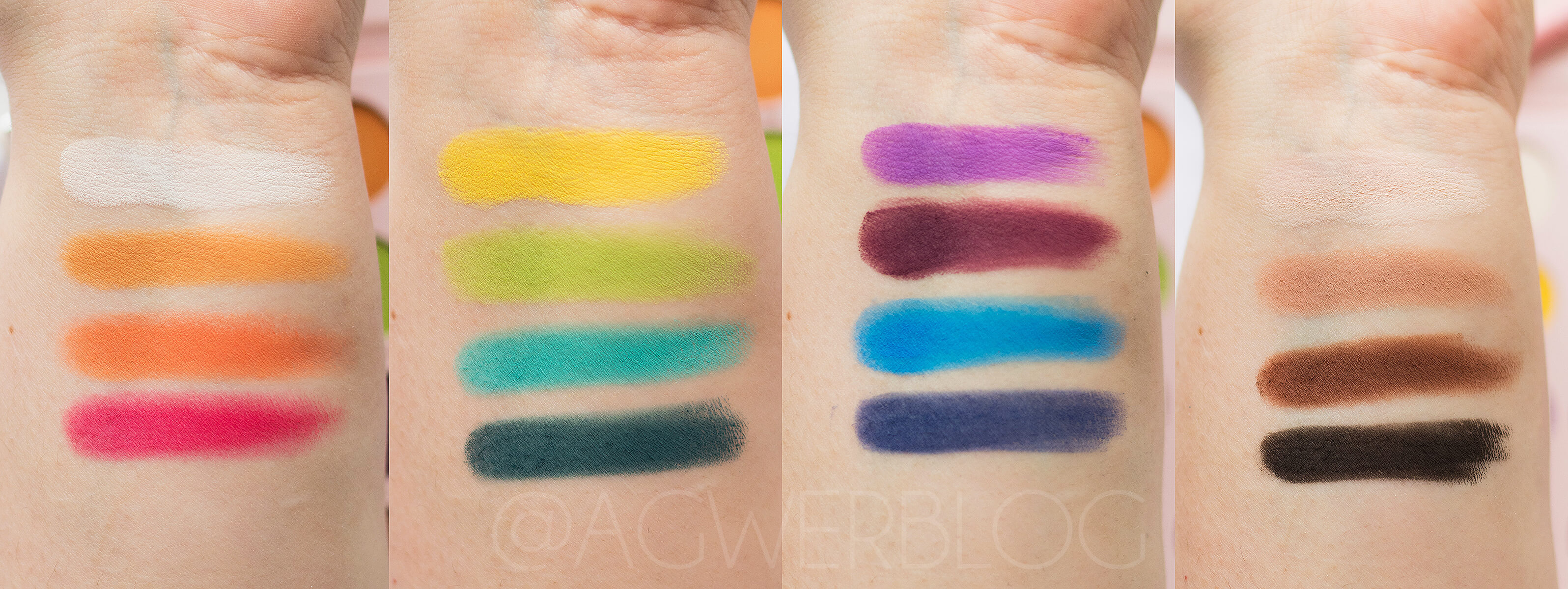 Tropical Rhythm Tune swatches