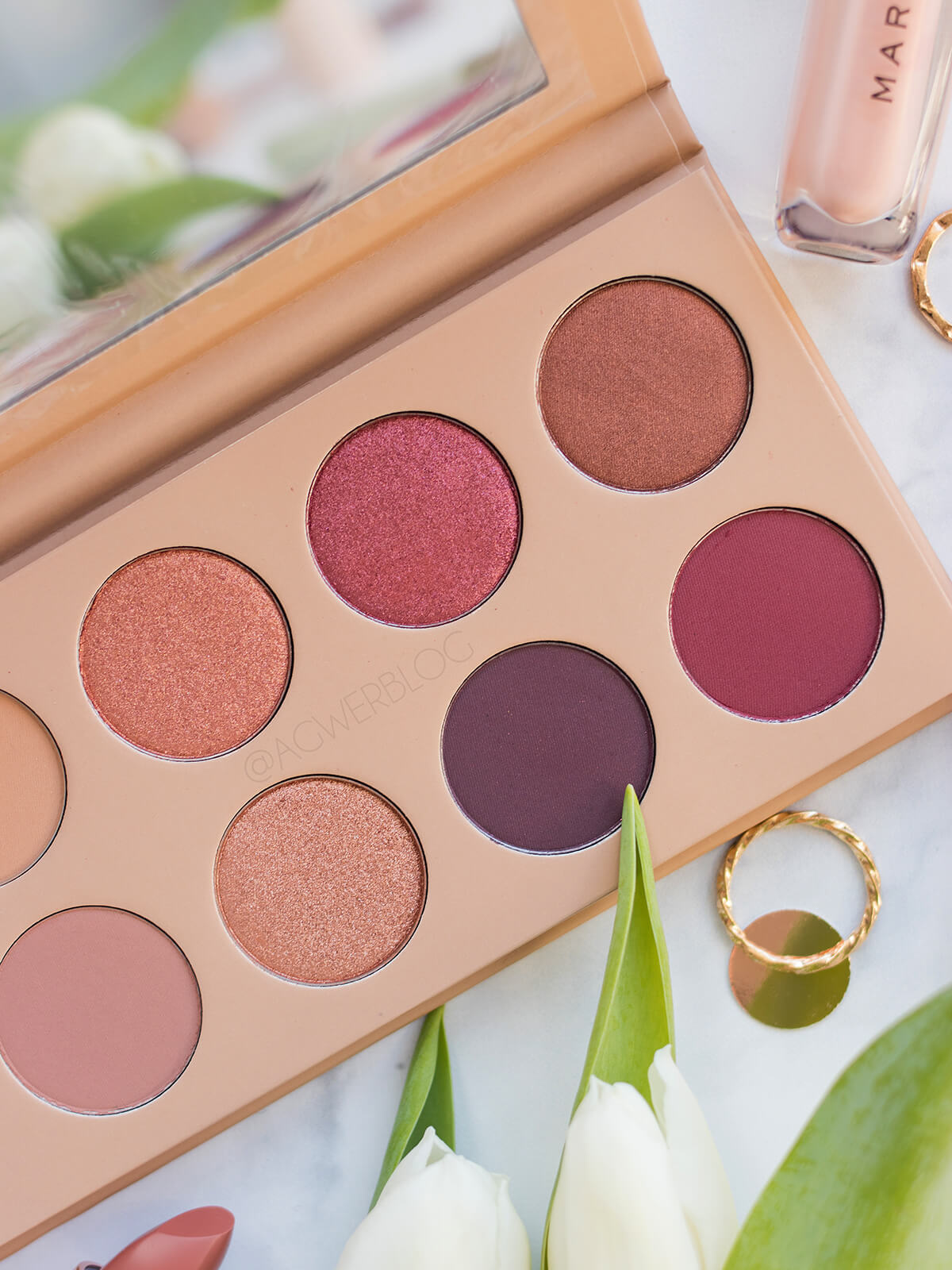 KKW Beauty Classic Blossom makeup