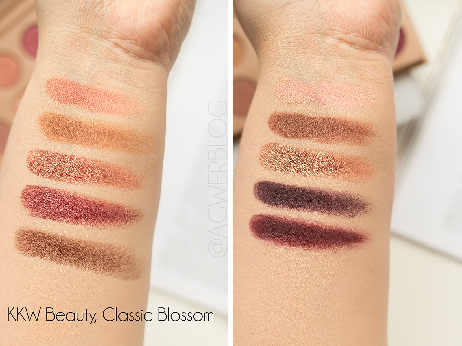 KKW Beauty Classic Blossom blog