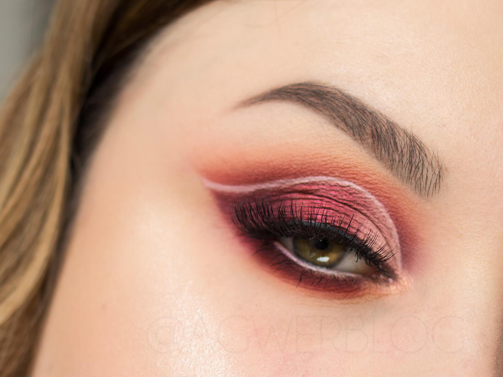 KKW Beauty Classic Blossom makeup inspiration
