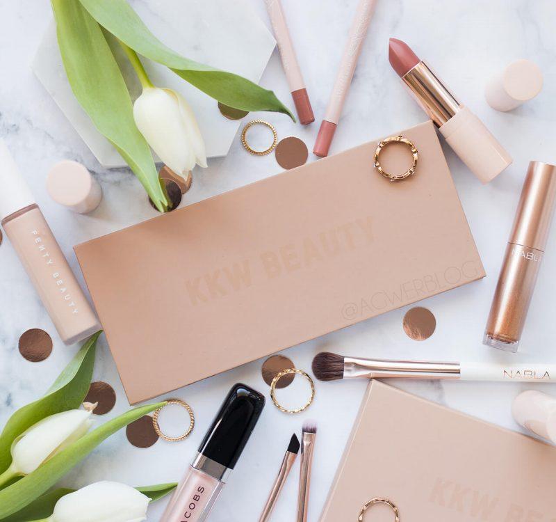 KKW Beauty Classic Blossom Eyeshadow Palette – recenzja, swatche, makijaż