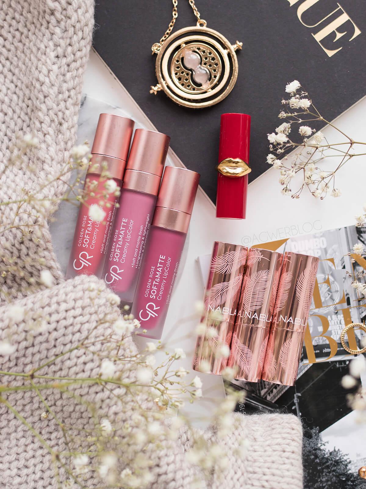 nowości kosmetyczne luty pomadki