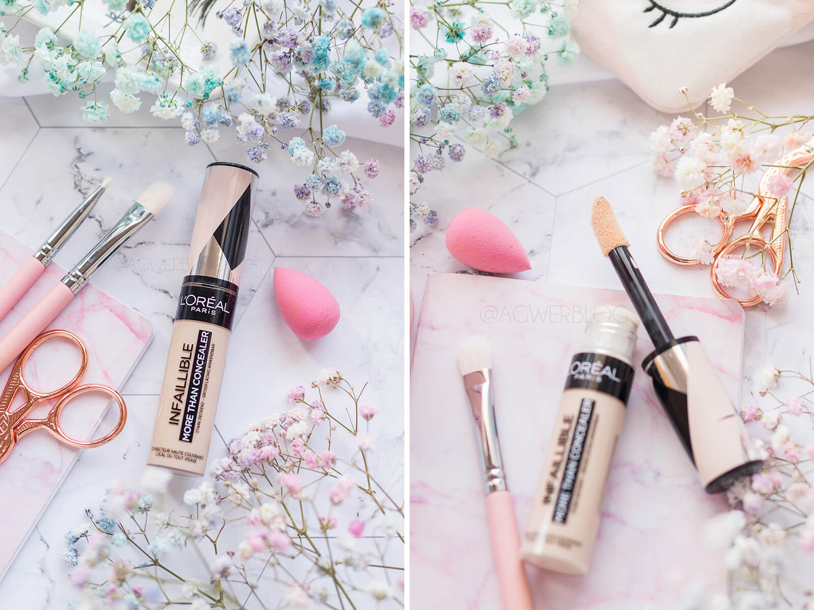 dobre korektory pod oczy blog kosmetyczny