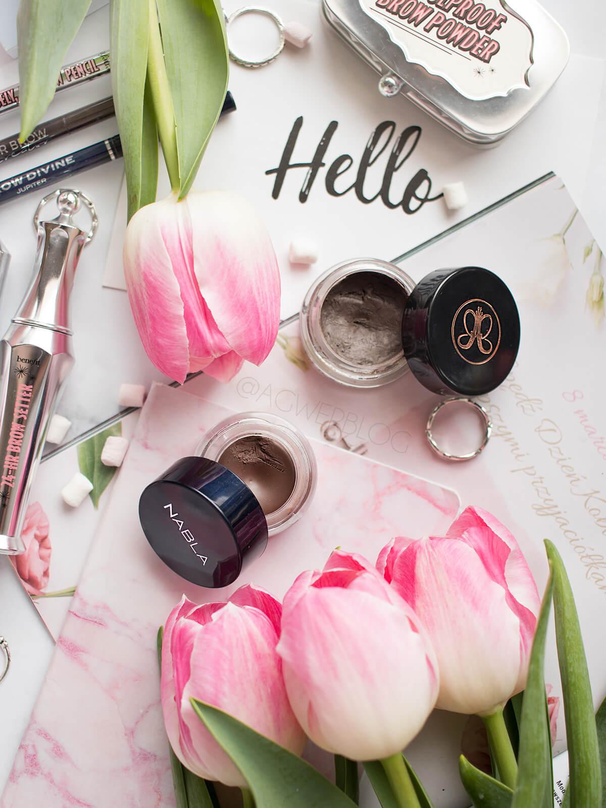 kosmetyki do brwi blog