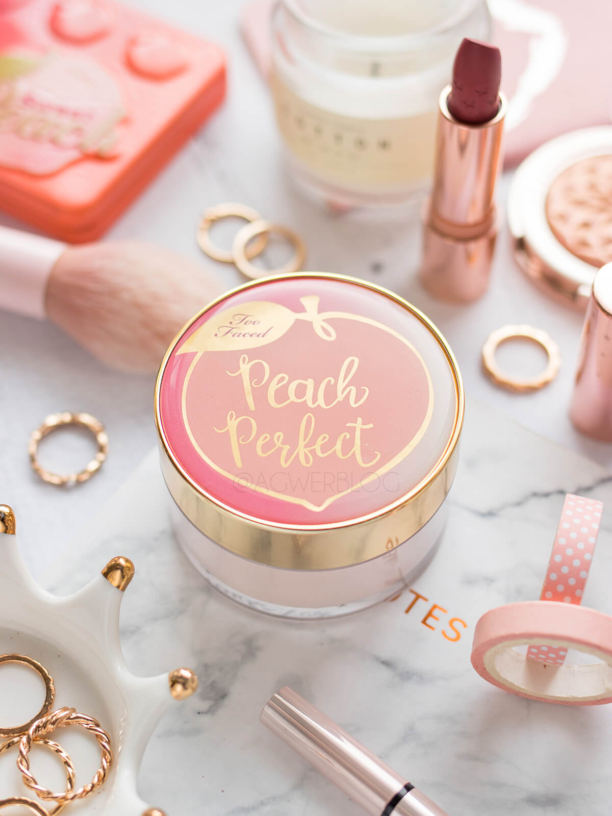 puder too faced peach perfect