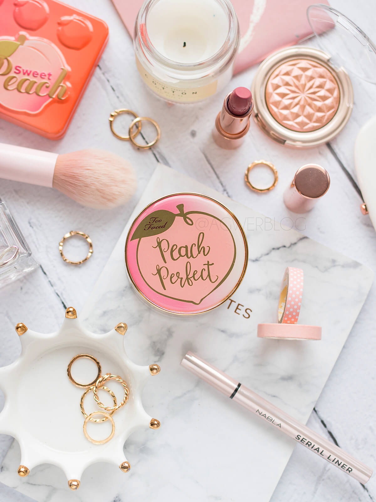 puder too faced peach perfect cena