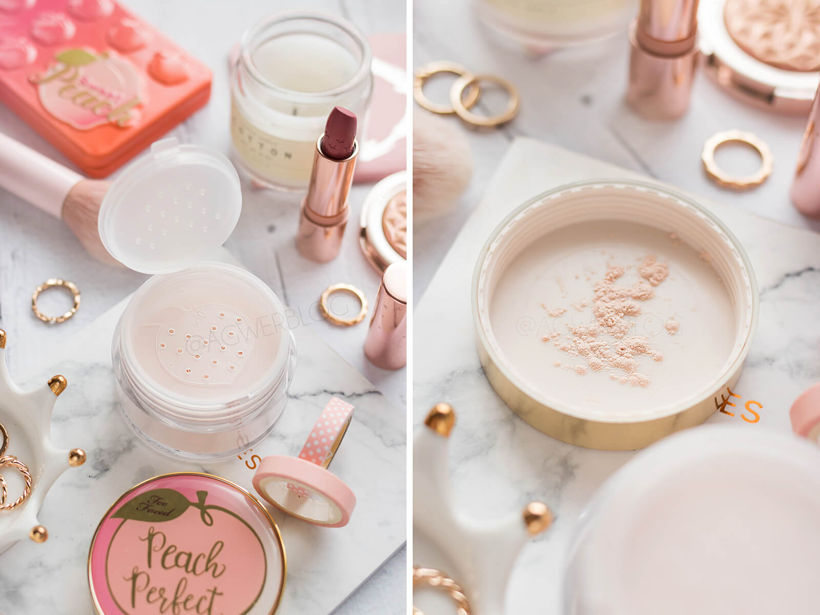 puder too faced peach perfect opinie