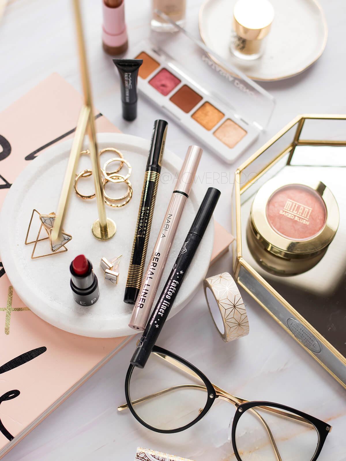 eyeliner eveline precise brush liner