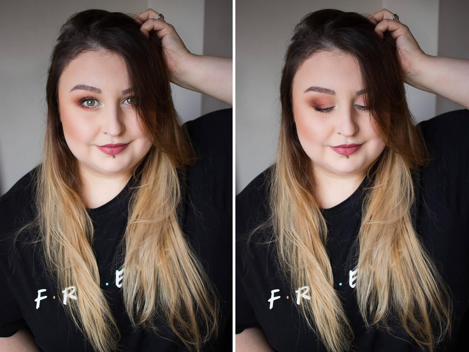 makijaż dzienny opadająca powieka