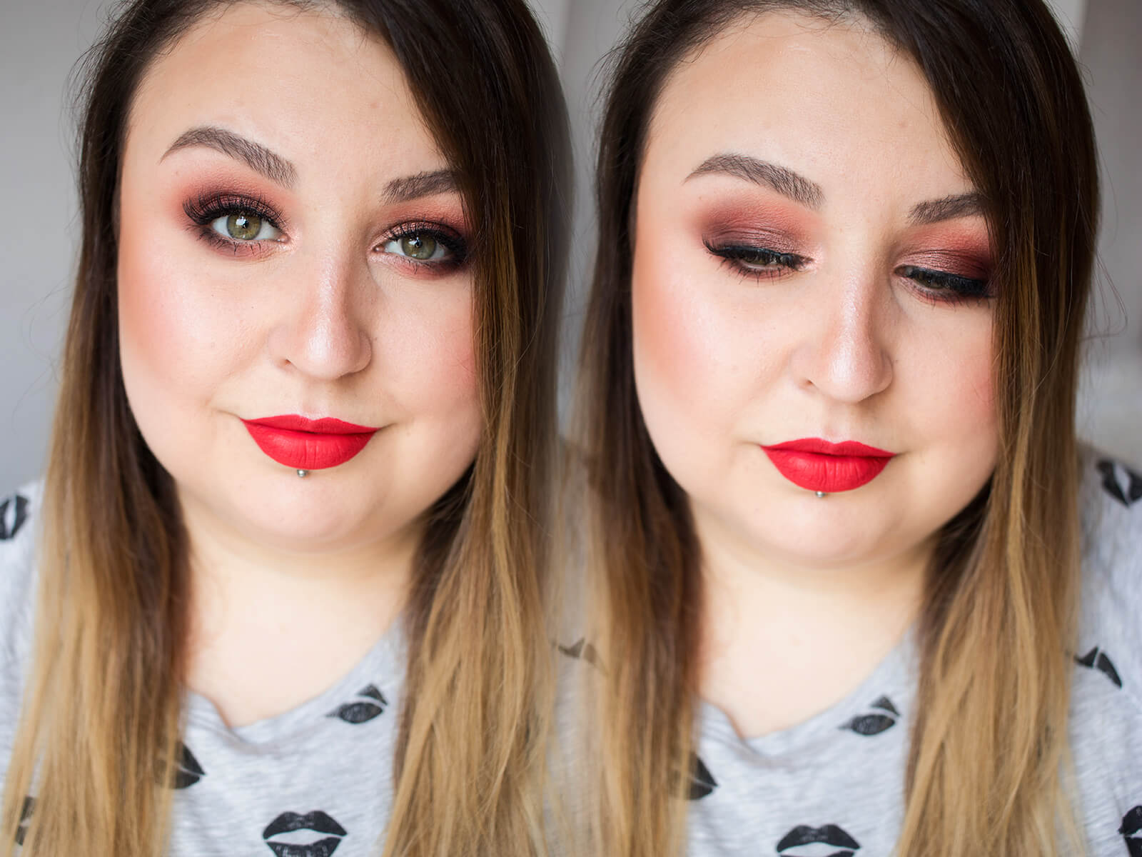 makijaż kosmetykami semilac blog