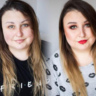Makijaż kosmetykami Semilac - kolorówka w akcji!