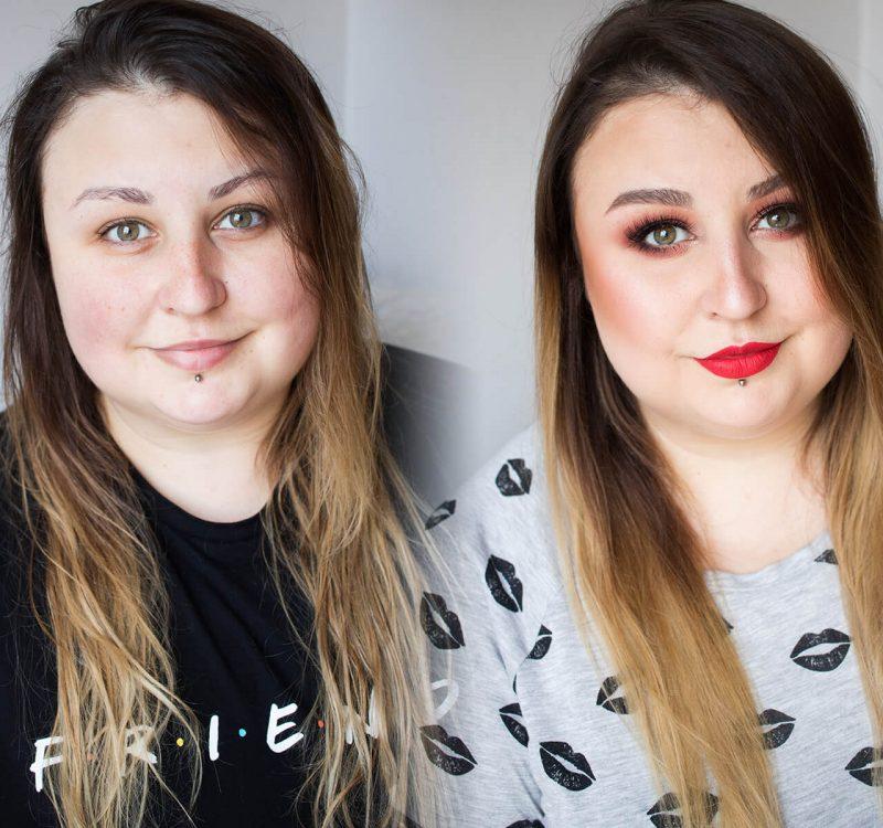 Makijaż kosmetykami Semilac – kolorówka w akcji!