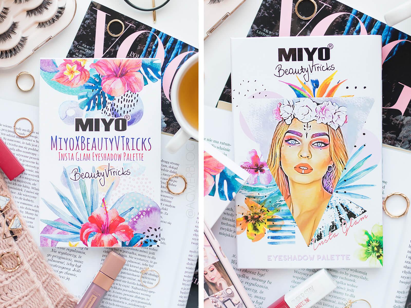 MIYO x Beautyvtricks insta glam blog