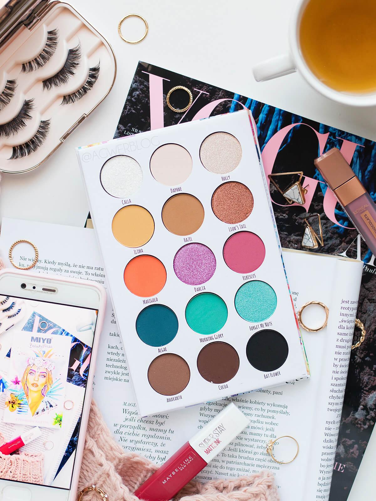 MIYO x Beautyvtricks Insta Glam recenzja
