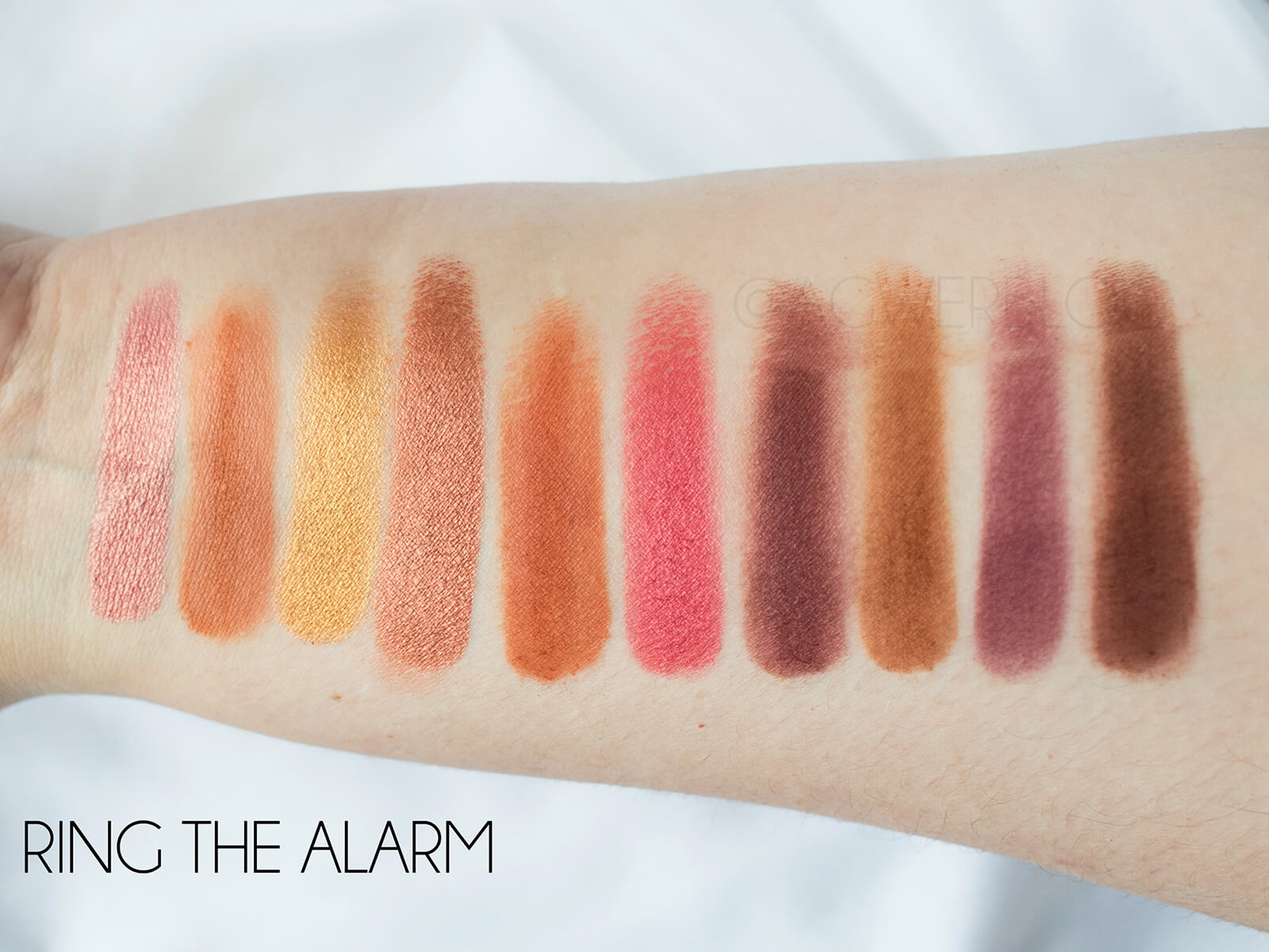 MORPHE RING THE ALARM SWATCHES